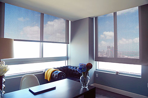window treatments screen shades