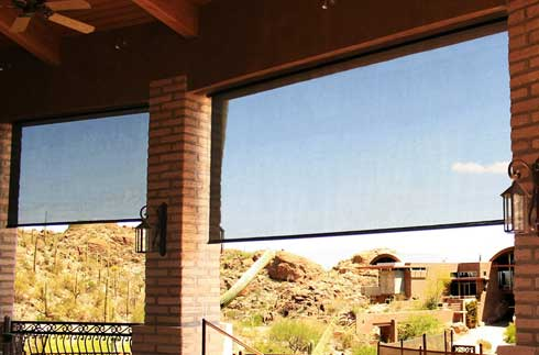 Window Shades - Solar Shades - The Basics: Outdoor Use