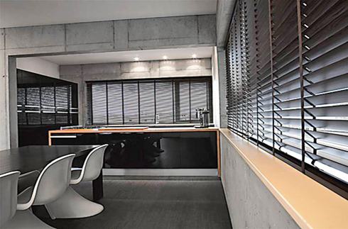 """2"""" Glossy Wood Blinds"""